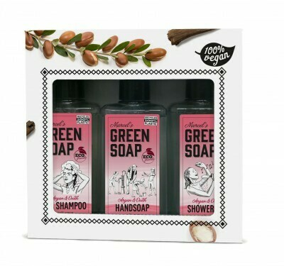 Marcel Green Soap Gave æske - Argan & Oudh