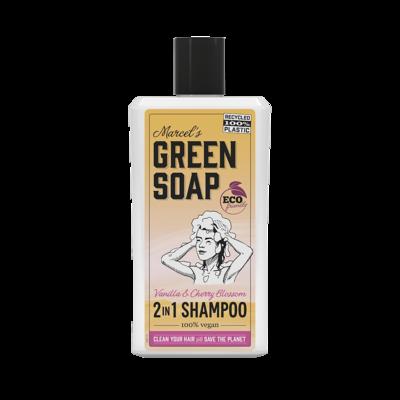 Marcel Green Soap Shampoo - Vanilla & Cherry Blossom