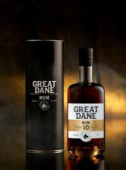 Rum Great Dane 10 år.