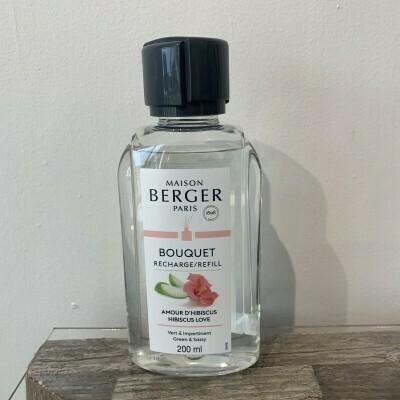 Maison Berger Refill Duftepinde - Hibiscus Love (200 ml)