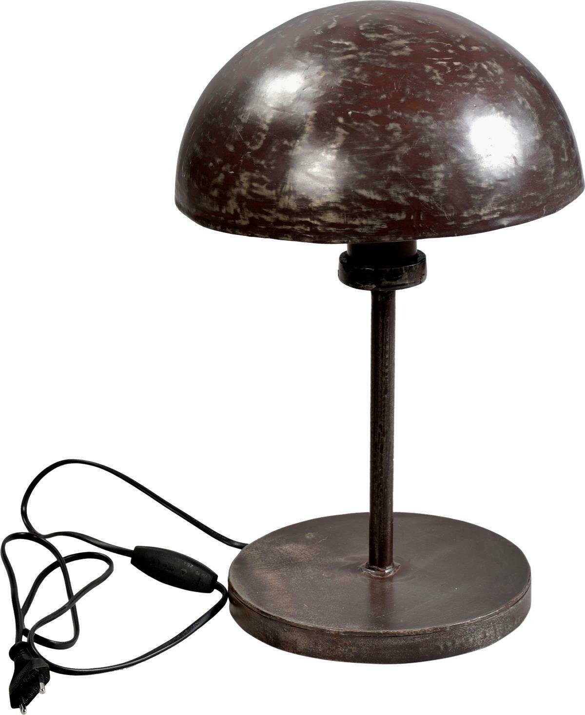 Bordlampe med cool fabrikslook