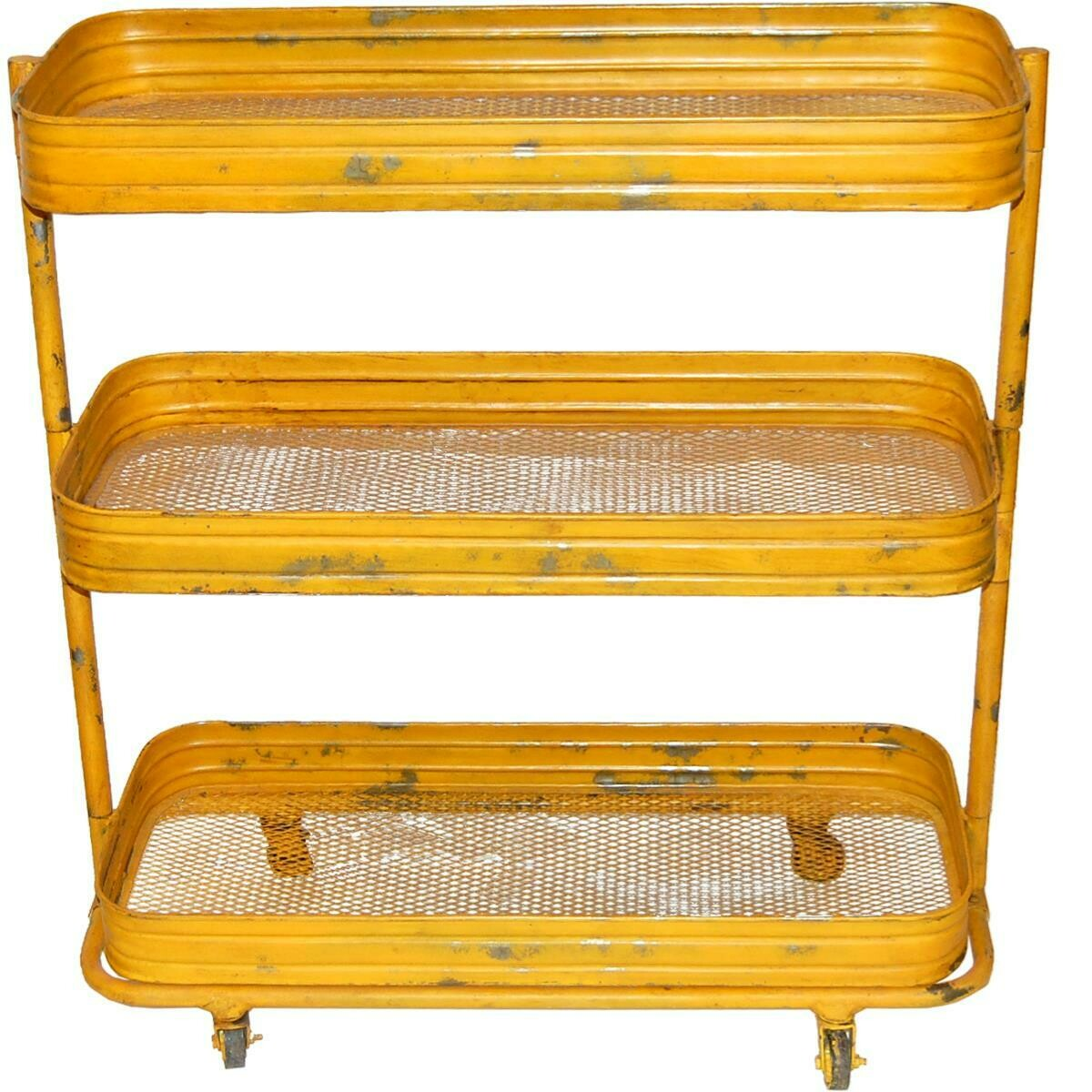 Trademark Living Rullebord - Antikgul med patina