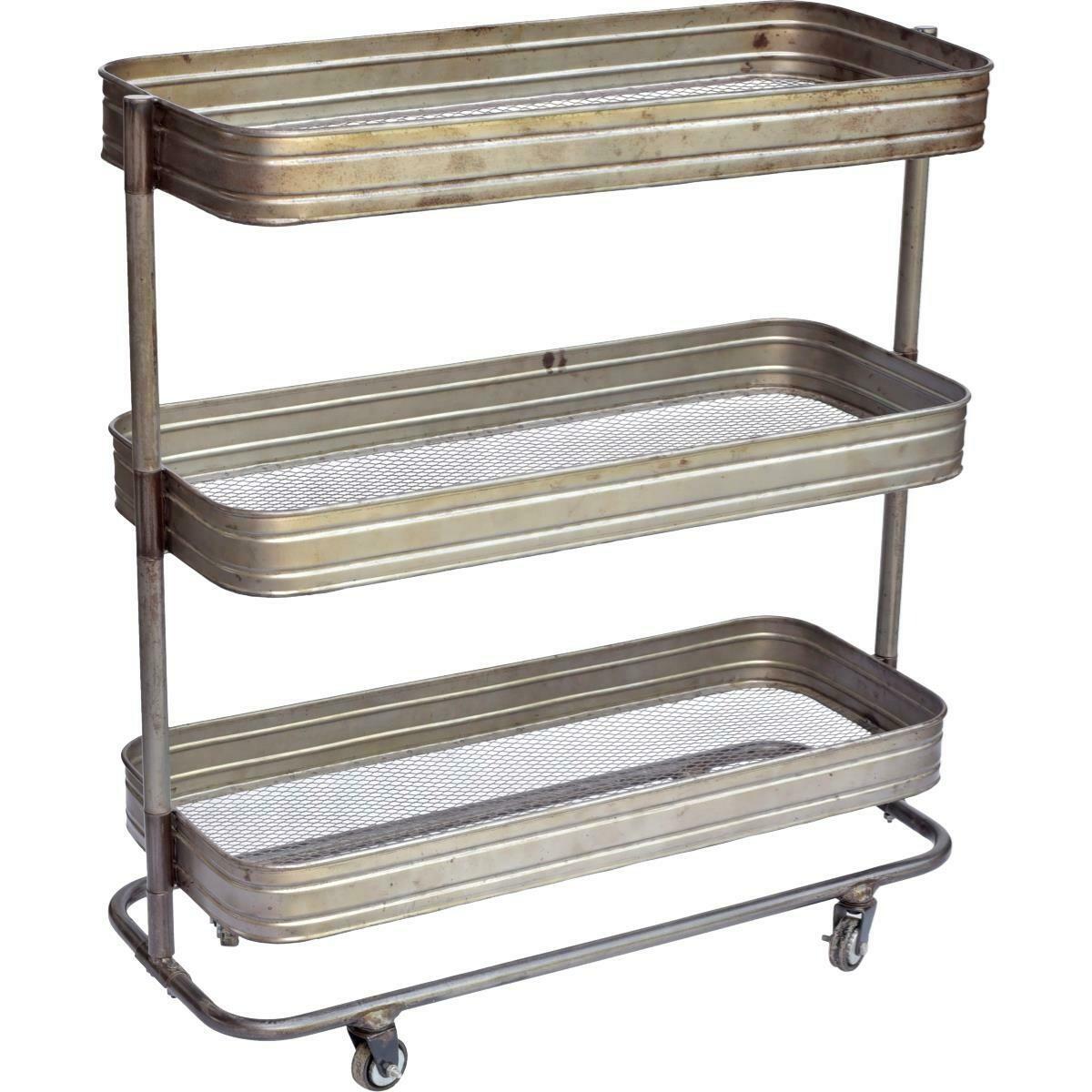 Trademark Living Rullebord - Jern med klar lak