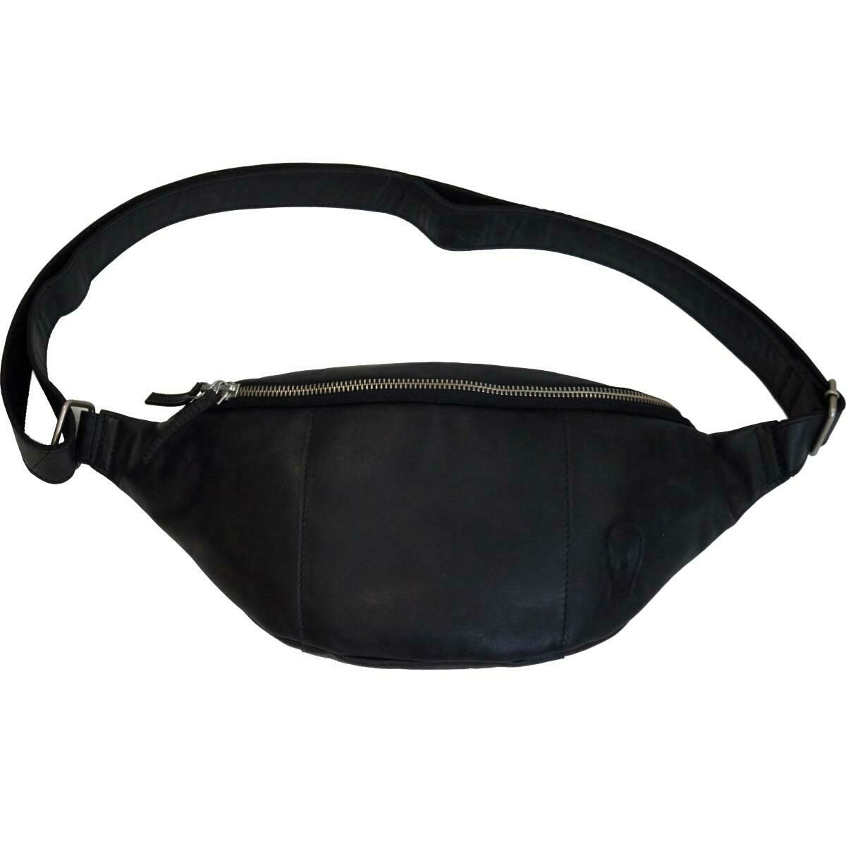 Trademark Living Bumbag - sort læder - small