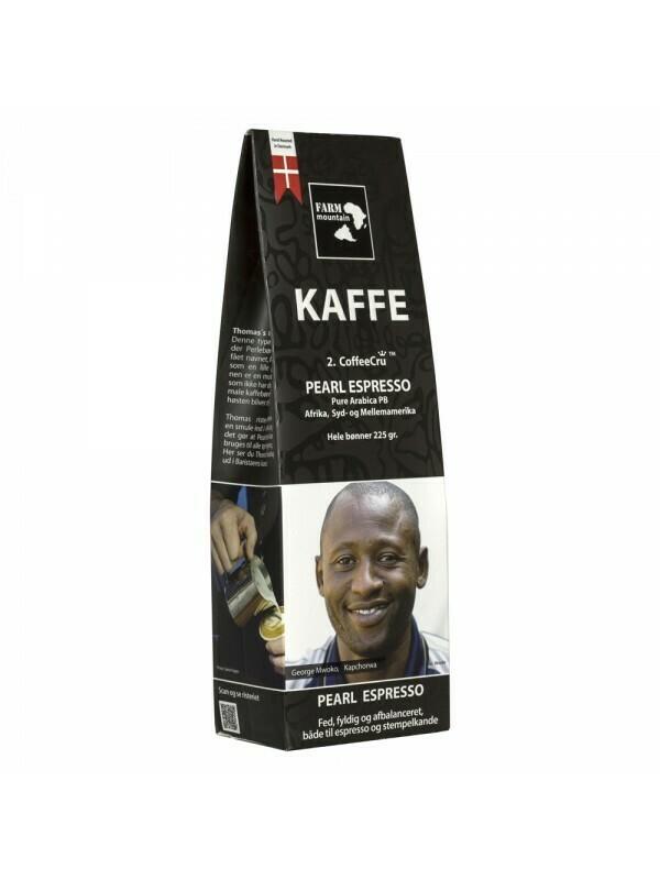 FARM mountain, Pearl Espresso, hele bønner. 225 gram