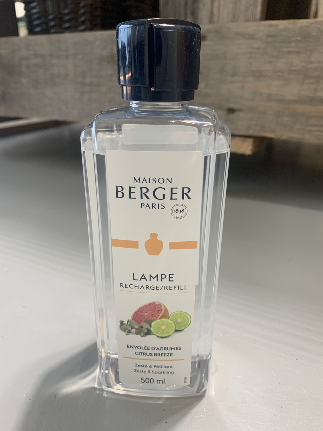 Maison Berger Lampeolie - Citrus Breeze (500ml)