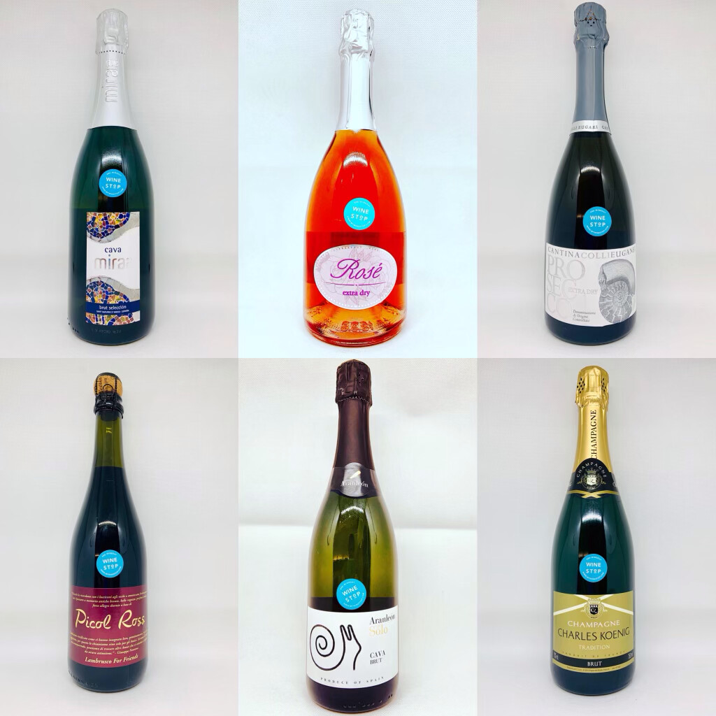 Ring In 2021 With 6 Different Sparkling Wines From Three Different Countries!