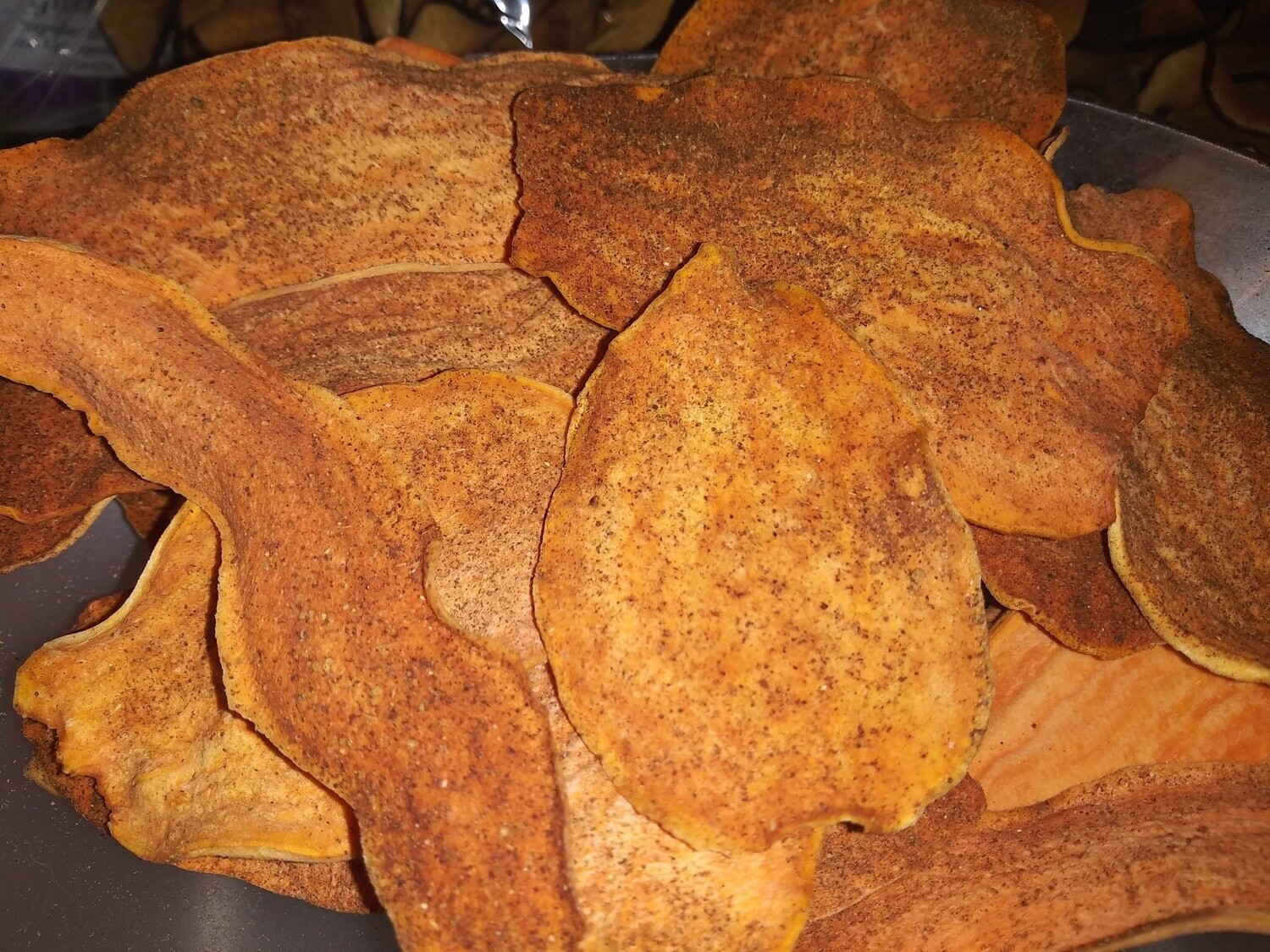 Sweet Potato Pie Chips