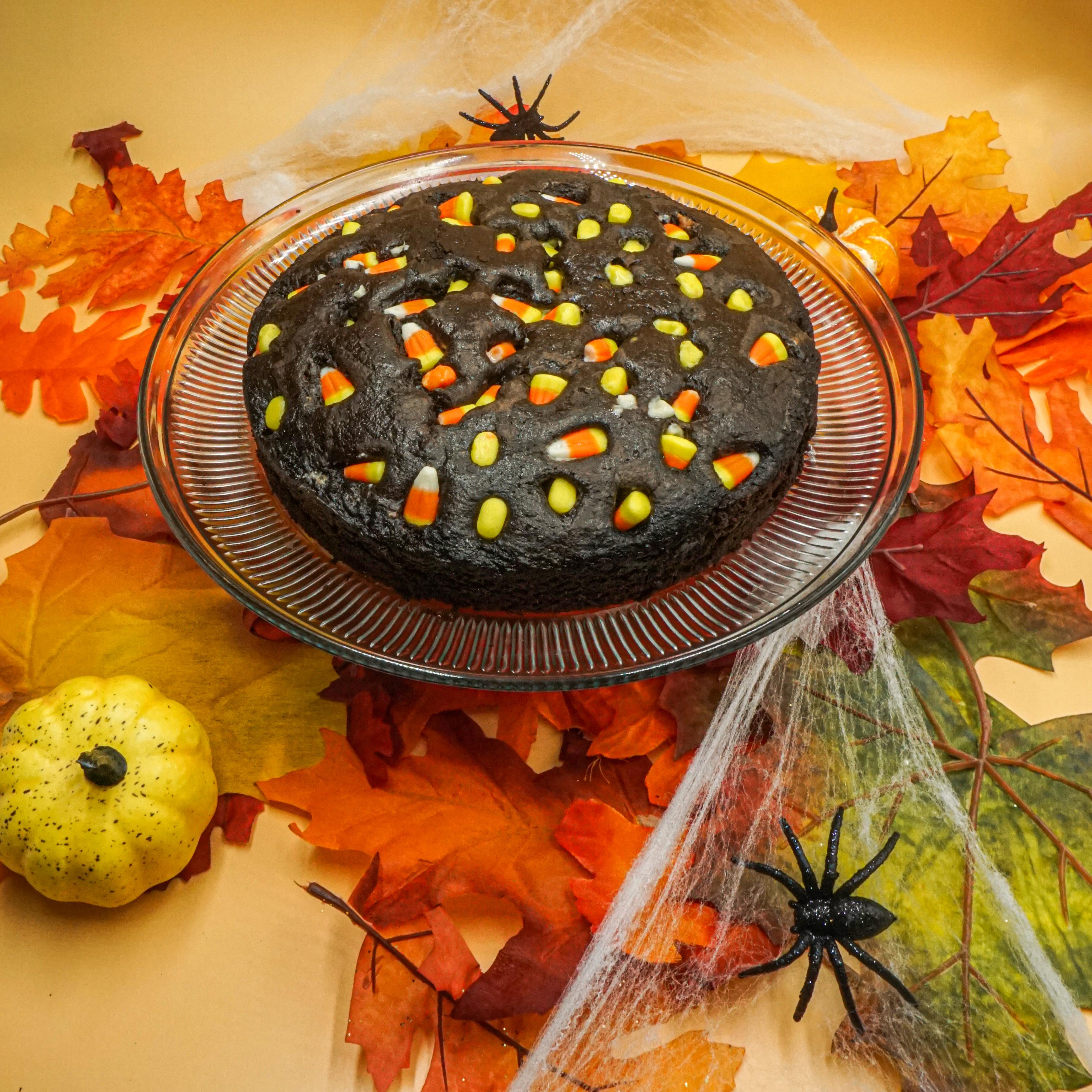 Candy Corn Coffee Cake 00128