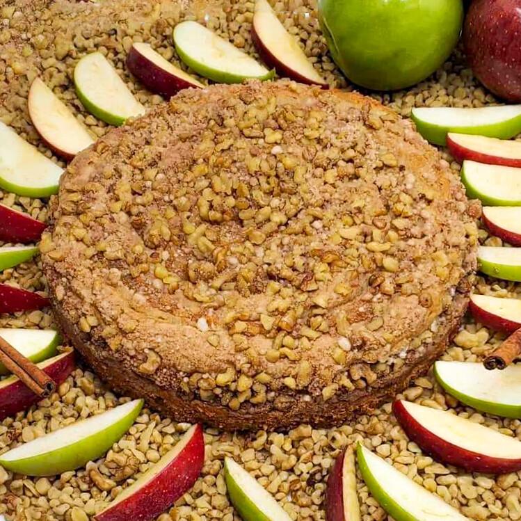 Apple Walnut Cinnamon