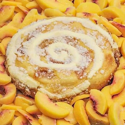 Peach Cream Cheese