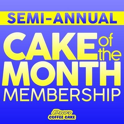 Semi-Annual Cake of the Month Membership