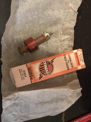 Miller 60-130 mH Horizontal Oscillator Coil Tapped #6324 - New