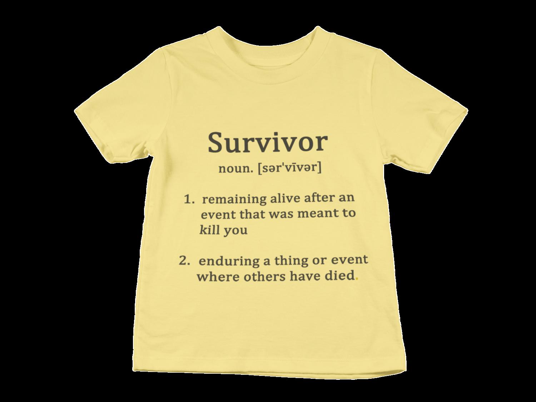 SURVIVOR Definition T-Shirt