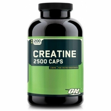 Optimum Nutrition Creatine 2500 200 Capsules 748927021349