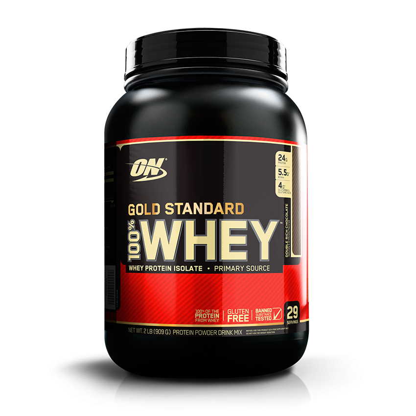Optimum Nutrition Gold Standard 100% Whey 2lb 748927028645(base)