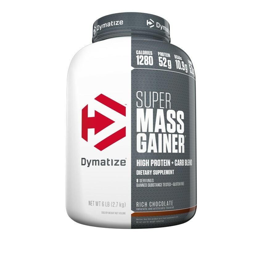 Dymatize Super Mass Gainer - 6lb 705016331277