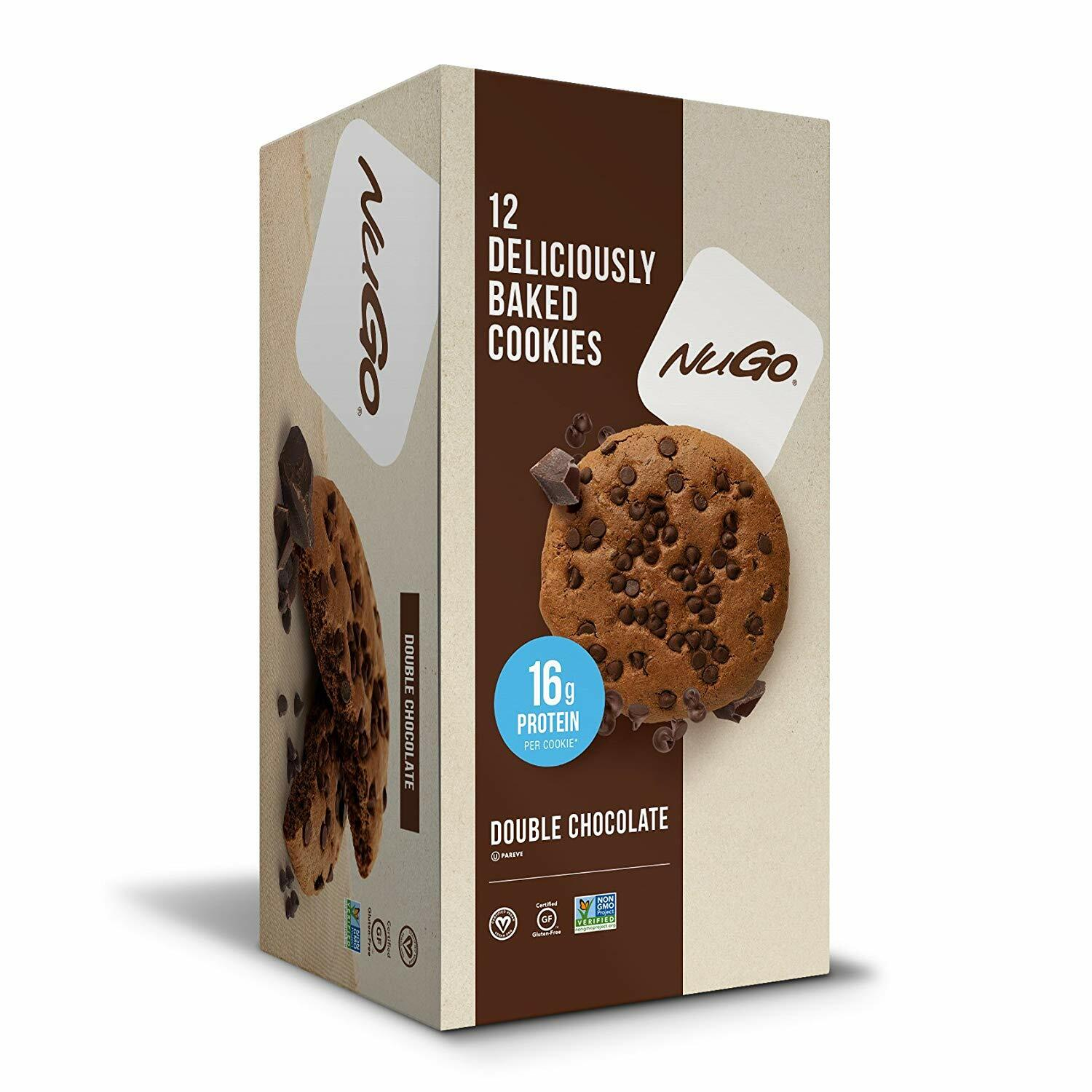 NuGo Nutrition Protein Cookies - 12pcs 691535302020(base)