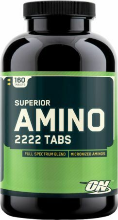 Optimum Nutrition Superior Amino 2222 - 160 Tablets 748927026474