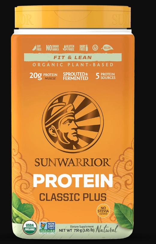 SunWarrior Organic Classic Plus Protein 750g 10083(base)