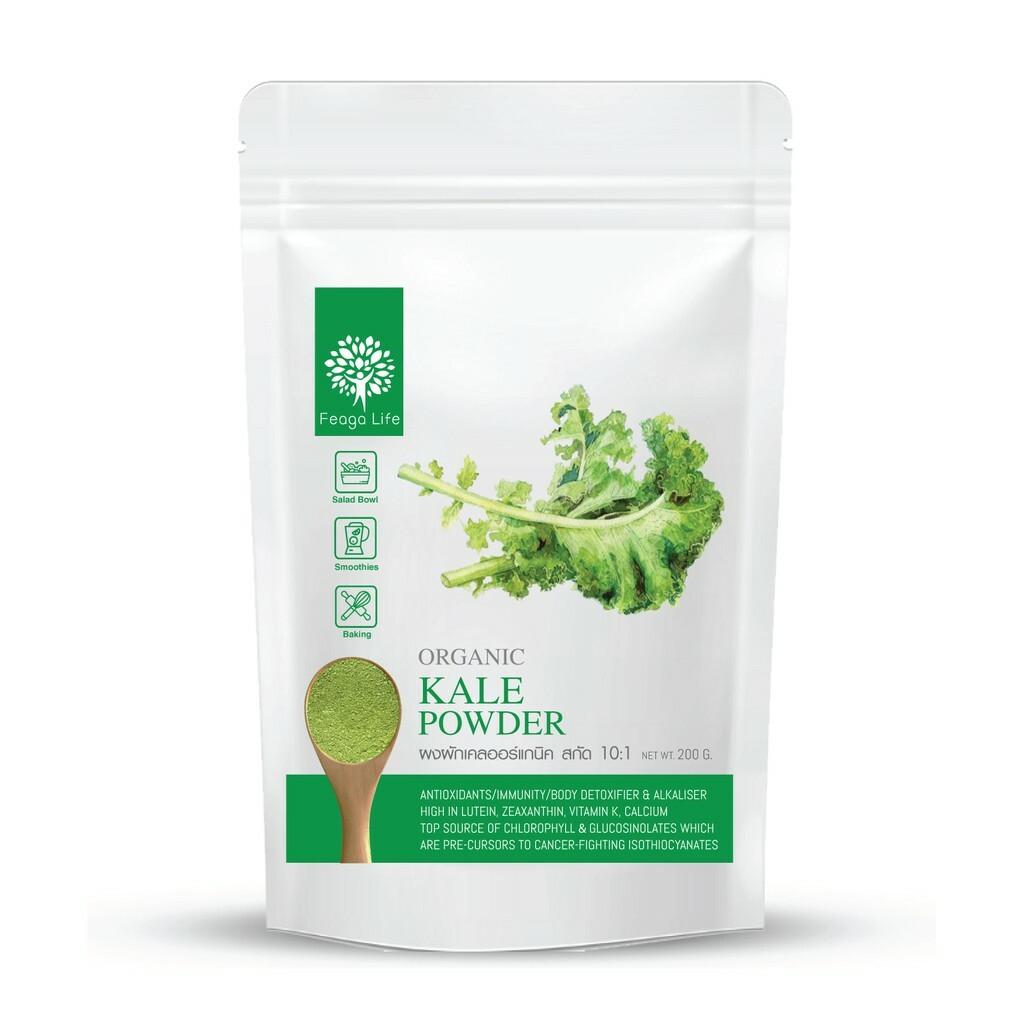 Feaga Life Organic Kale Powder 200g 10120