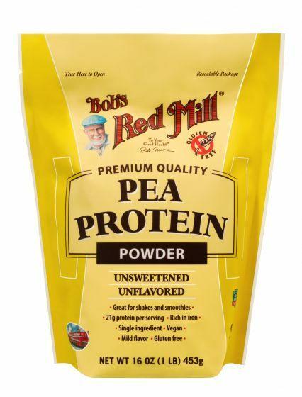 Bob's Red Mill Gluten Free Pea Protein 039978003607