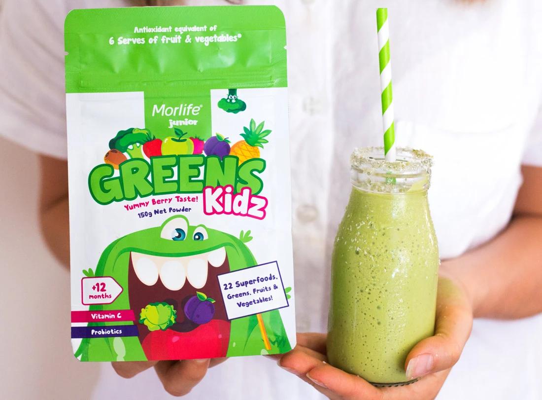 Morlife Greens Kidz 150g