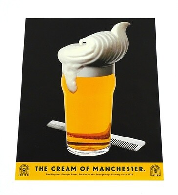 Boddingtons Draught Poster (1993)