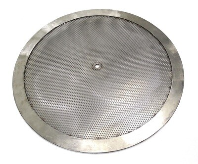 Drilled Mesh Disc with 3mm Holes