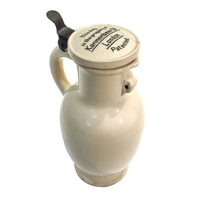 Antique Stoneware Beer Jug c.1900 - Kannenbeer Ltd London