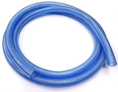"1"" Clear Braided PVC Hose - Per Meter"