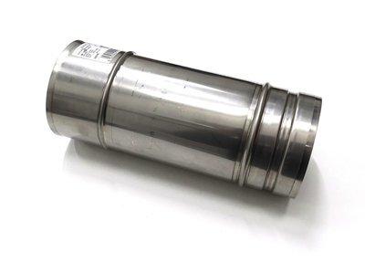 250mm Straight - 100mm Ø