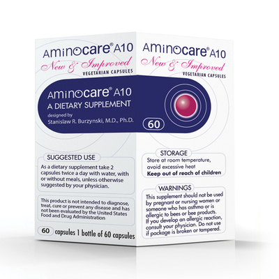 AMINOCARE ® A10 NEW AND IMPROVED 60 CAPSULES