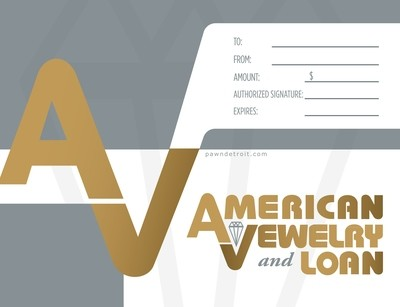 American Jewelry & Loan Gift Card