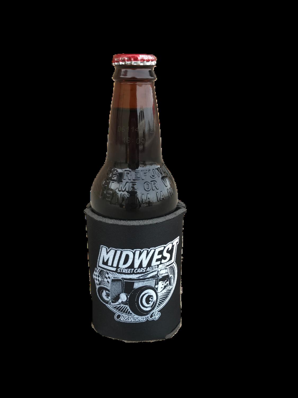 Midwest Black Koozie