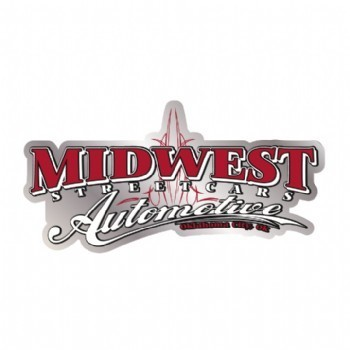 MIDWEST STREETCARS PINSTRIPE DECAL