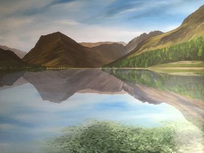 Buttermere at Dawn (A3)
