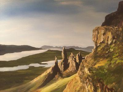 The Quiraing, Isle of Skye (A3)
