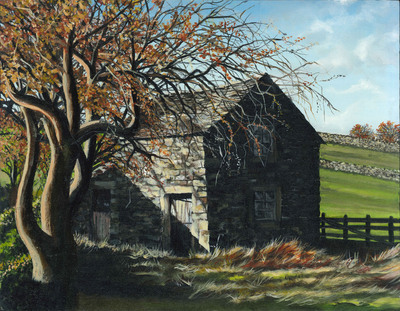 Barn - Yorkshire Dales (A3)