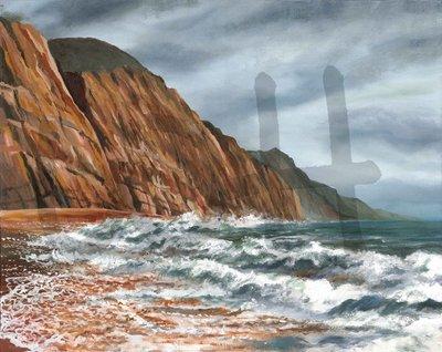 After Storm Cliffs at Sidmouth Devon (A3)