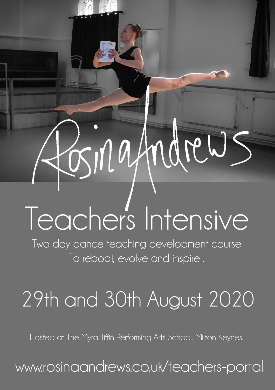 Teachers Intensive 2020