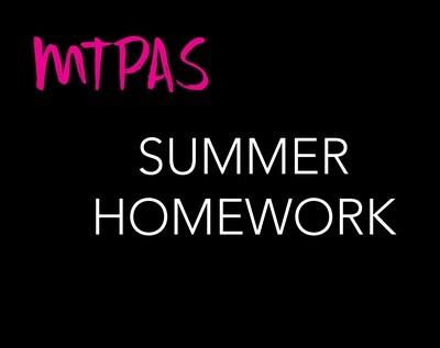 MTPAS Summer homework