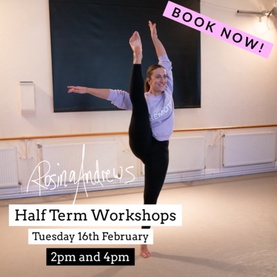 Half Term Workshop With Rosina Andrews