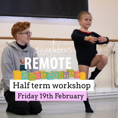 Junior Dancer Half Term Workshop