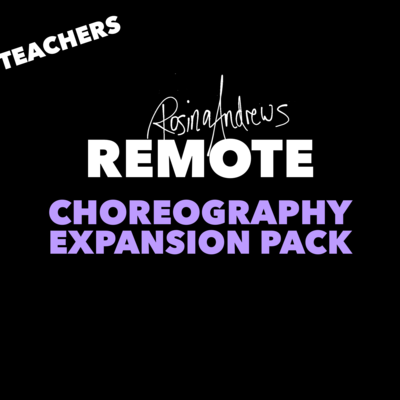 Choreography Class Expansion Pack for TEACHERS
