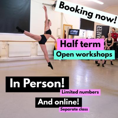 Half Term IN PERSON Workshop