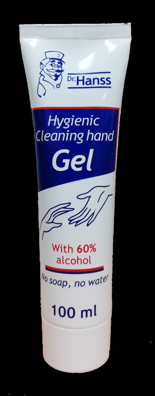 Dr.HANSS Антибактериален гел за ръце 100мл.