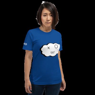 Blue Short-Sleeve Unisex Clxxd T-Shirt