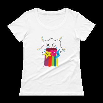 Burp Clxxd Ladies' Scoopneck T-Shirt