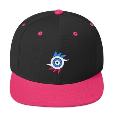 Azure Eye Snapback Hat
